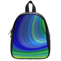 Space Design Abstract Sky Storm School Bag (small) by Nexatart