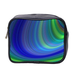Space Design Abstract Sky Storm Mini Toiletries Bag 2 Side by Nexatart