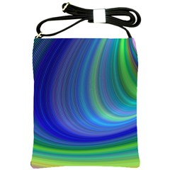 Space Design Abstract Sky Storm Shoulder Sling Bags by Nexatart
