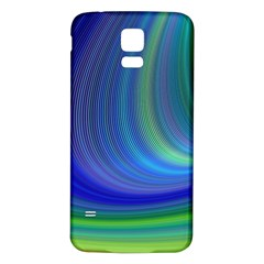 Space Design Abstract Sky Storm Samsung Galaxy S5 Back Case (white) by Nexatart