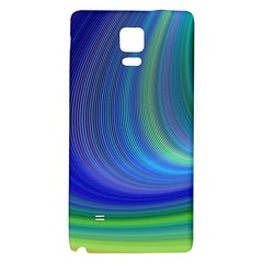 Space Design Abstract Sky Storm Galaxy Note 4 Back Case