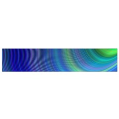 Space Design Abstract Sky Storm Flano Scarf (small)