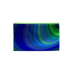 Space Design Abstract Sky Storm Cosmetic Bag (xs)