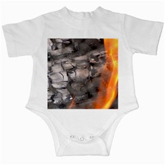 Fireplace Flame Burn Firewood Infant Creepers