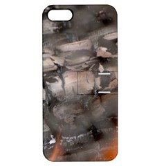 Fireplace Flame Burn Firewood Apple Iphone 5 Hardshell Case With Stand by Nexatart