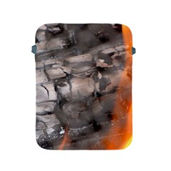 Fireplace Flame Burn Firewood Apple Ipad 2/3/4 Protective Soft Cases