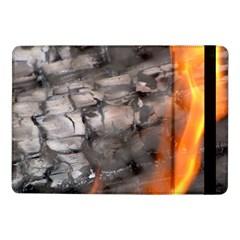 Fireplace Flame Burn Firewood Samsung Galaxy Tab Pro 10 1  Flip Case