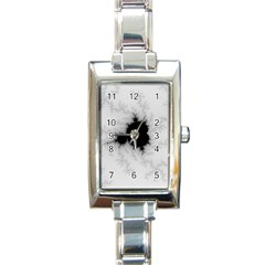 Almond Bread Quantity Apple Males Rectangle Italian Charm Watch by Nexatart