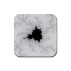 Almond Bread Quantity Apple Males Rubber Square Coaster (4 Pack)  by Nexatart