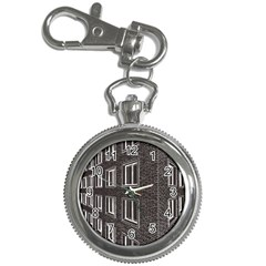 Graphics House Brick Brick Wall Key Chain Watches by Nexatart