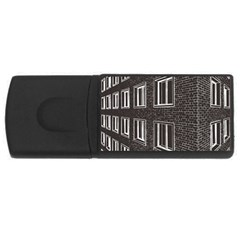 Graphics House Brick Brick Wall Rectangular Usb Flash Drive