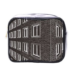 Graphics House Brick Brick Wall Mini Toiletries Bags