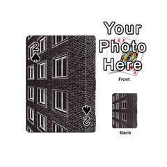 Graphics House Brick Brick Wall Playing Cards 54 (mini)