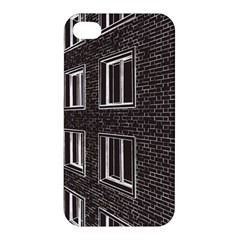 Graphics House Brick Brick Wall Apple Iphone 4/4s Premium Hardshell Case