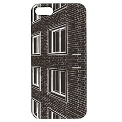Graphics House Brick Brick Wall Apple Iphone 5 Hardshell Case With Stand by Nexatart