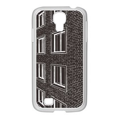 Graphics House Brick Brick Wall Samsung Galaxy S4 I9500/ I9505 Case (white)