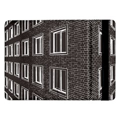 Graphics House Brick Brick Wall Samsung Galaxy Tab Pro 12 2  Flip Case by Nexatart