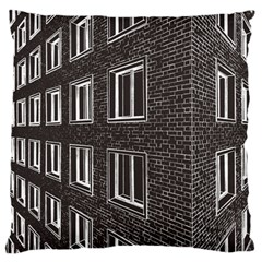 Graphics House Brick Brick Wall Standard Flano Cushion Case (one Side)