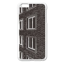 Graphics House Brick Brick Wall Apple Iphone 6 Plus/6s Plus Enamel White Case