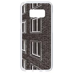 Graphics House Brick Brick Wall Samsung Galaxy S8 White Seamless Case