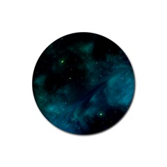 Space All Universe Cosmos Galaxy Rubber Coaster (round)