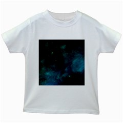 Space All Universe Cosmos Galaxy Kids White T Shirts