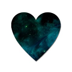 Space All Universe Cosmos Galaxy Heart Magnet