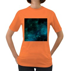 Space All Universe Cosmos Galaxy Women s Dark T Shirt