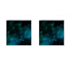 Space All Universe Cosmos Galaxy Cufflinks (square)