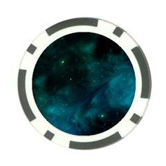 Space All Universe Cosmos Galaxy Poker Chip Card Guard (10 Pack)