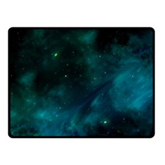 Space All Universe Cosmos Galaxy Fleece Blanket (small) by Nexatart