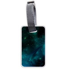 Space All Universe Cosmos Galaxy Luggage Tags (one Side)  by Nexatart