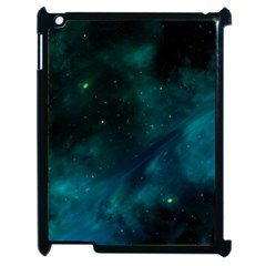 Space All Universe Cosmos Galaxy Apple Ipad 2 Case (black) by Nexatart