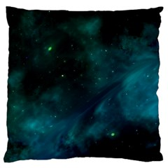 Space All Universe Cosmos Galaxy Large Cushion Case (one Side) by Nexatart