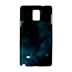 Space All Universe Cosmos Galaxy Samsung Galaxy Note 4 Hardshell Case by Nexatart