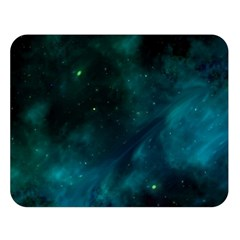 Space All Universe Cosmos Galaxy Double Sided Flano Blanket (large)