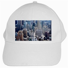 Manhattan New York City White Cap by Nexatart