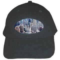 Manhattan New York City Black Cap by Nexatart