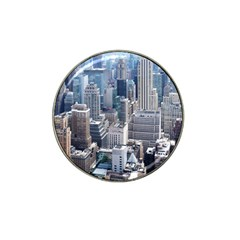 Manhattan New York City Hat Clip Ball Marker (10 Pack)