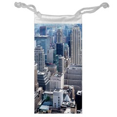 Manhattan New York City Jewelry Bag