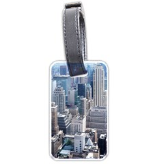 Manhattan New York City Luggage Tags (two Sides) by Nexatart