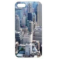Manhattan New York City Apple Iphone 5 Hardshell Case With Stand