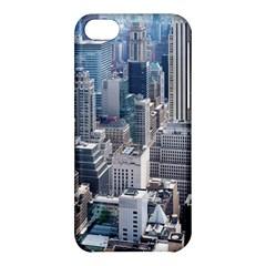 Manhattan New York City Apple Iphone 5c Hardshell Case by Nexatart
