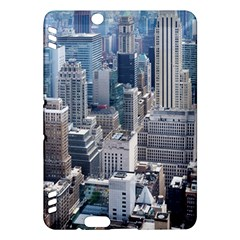 Manhattan New York City Kindle Fire Hdx Hardshell Case by Nexatart