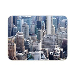 Manhattan New York City Double Sided Flano Blanket (mini)