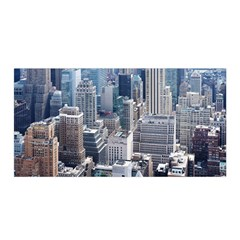 Manhattan New York City Satin Wrap