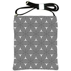 Seamless Weave Ribbon Hexagonal Shoulder Sling Bags by Nexatart