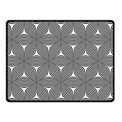 Seamless Weave Ribbon Hexagonal Fleece Blanket (small)