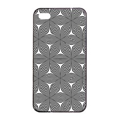 Seamless Weave Ribbon Hexagonal Apple Iphone 4/4s Seamless Case (black) by Nexatart
