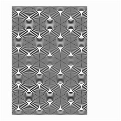 Seamless Weave Ribbon Hexagonal Small Garden Flag (two Sides) by Nexatart